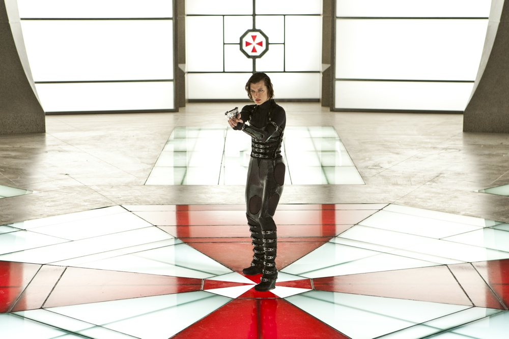 Milla Jovovich stars in Screen Gems' action horror RESIDENT EVIL: RETRIBUTION.