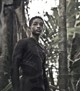 "Jaden Smith on location in Costa Rica during production of Columbia Pictures' ""After Earth,"" also starring Will Smith."