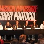 Mission Impossible Ghost Protocol press conference Dubai